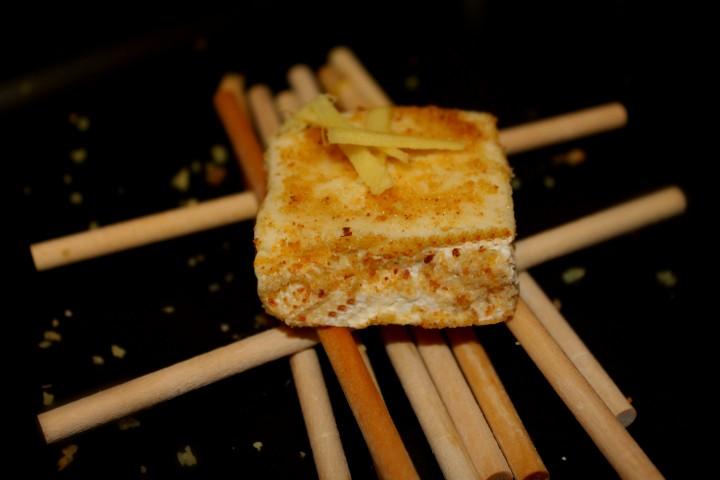 tiramisù di formaggio allo zenzero 4
