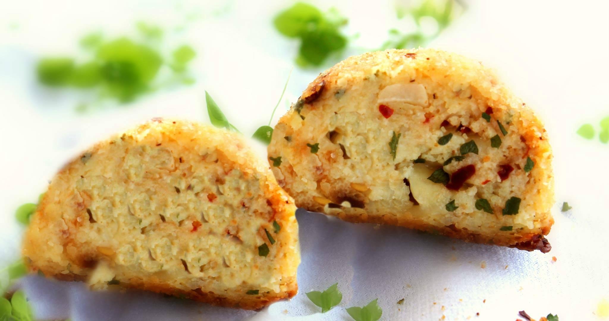 Polpette di patate con erbe e provola la cucina del cuore - La cucina del cuore ...