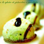 Gelato al pistacchio e mandorle
