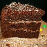 Torta veloce al cioccolato fondente