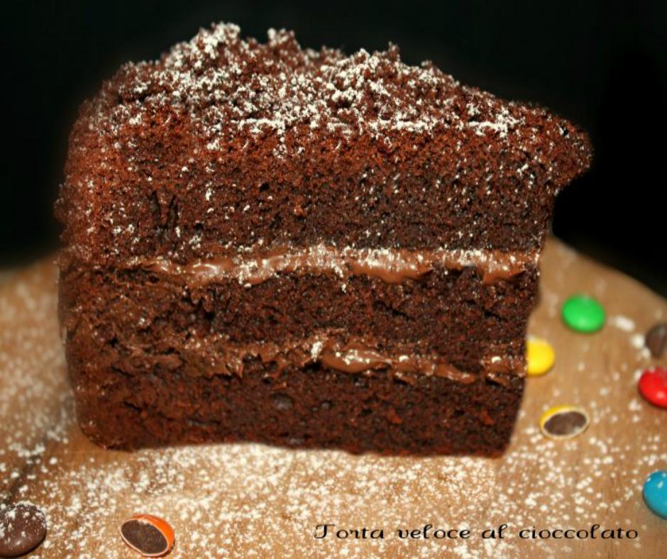 Torta veloce al cioccolato fondente la cucina del cuore - La cucina del cuore ...