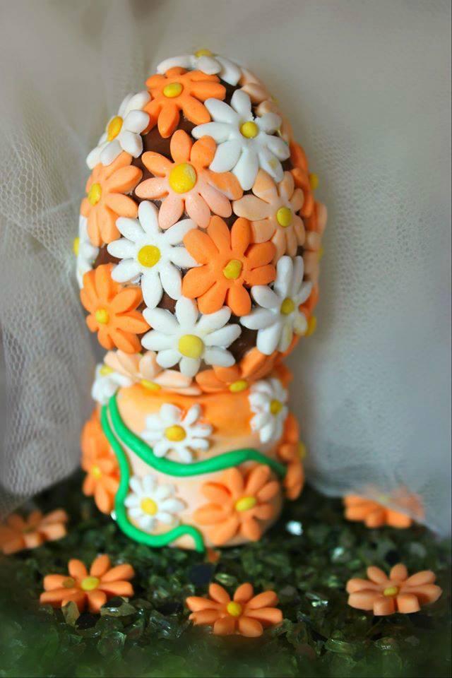 Uova di cioccolato decorate la cucina del cuore - La cucina del cuore ...