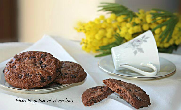 Biscotti golosi al cioccolato