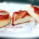 Pizzette soffici da buffet