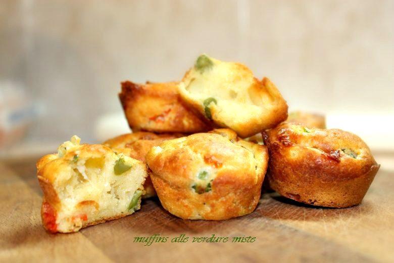 Muffins alle verdure miste