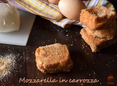 Mozzarella in carrozza light