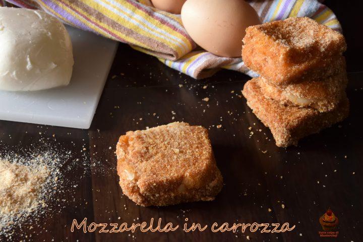 mozzarella in carrozza speziata