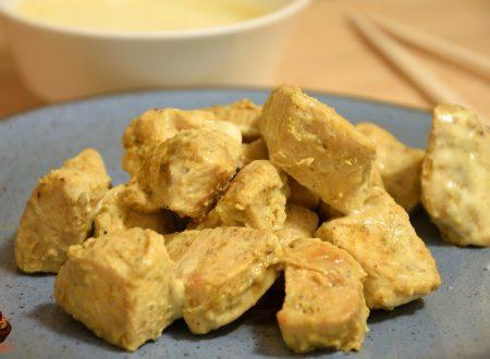 Pollo al curry con salsa light