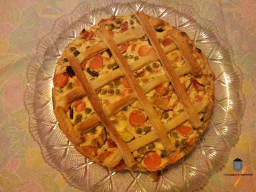 Torta rustica di verdure, ricetta svuotafrigo