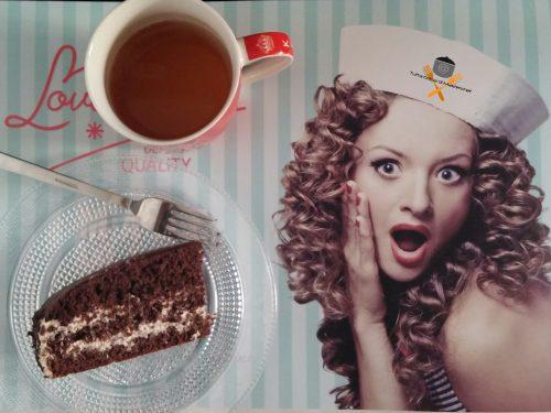Torta al cappuccino con crema al caffè e mascarpone