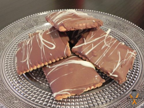 Biscotti mou e cioccolato, ricetta veloce