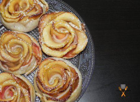 Rose di mele, ricetta dolce veloce