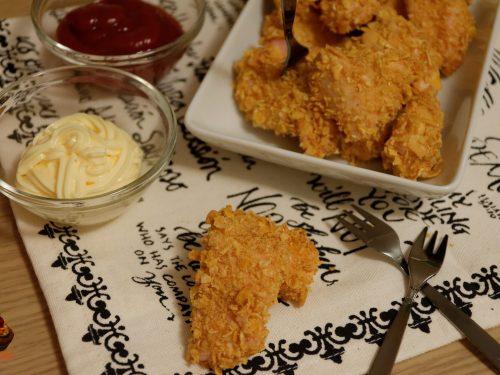 Nuggets di pollo ai cereali non fritti