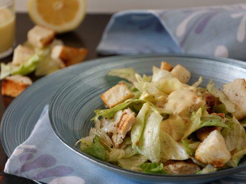 Caesar salad, ricetta light