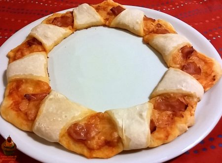 Pizza corona con foto passo passo