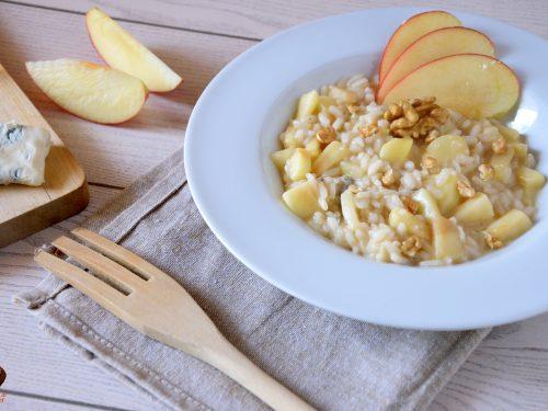Risotto alle mele e gorgonzola