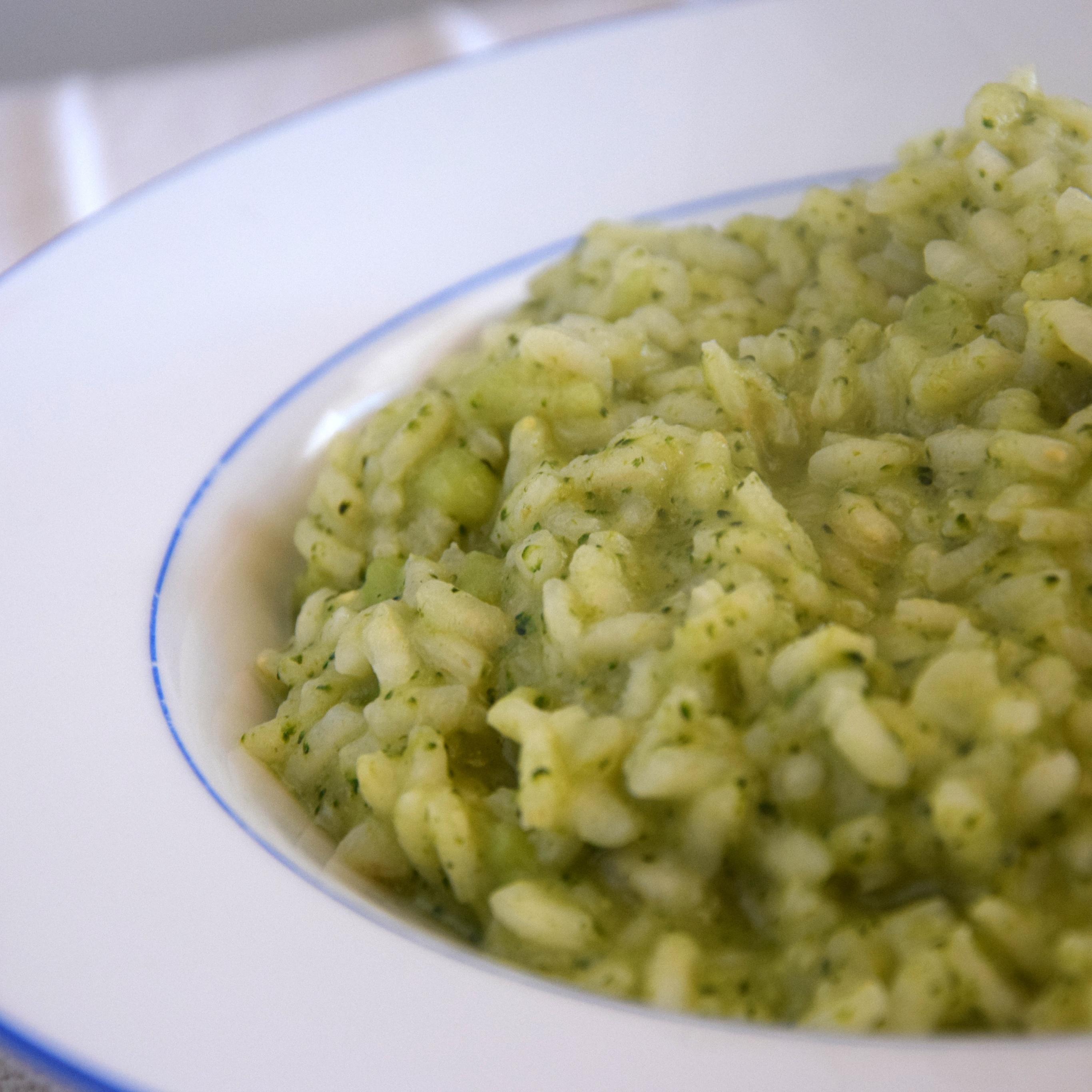 Ricetta Risotto Broccoli.Risotto Con Broccoli