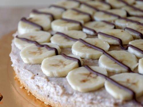 Cheesecake light alla banana