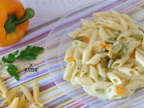 Pasta con mascarpone e peperoni
