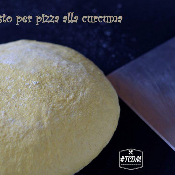 pizza alla curcuma