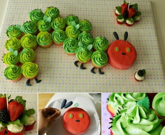 Come fare il bruco cupcakes