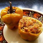 Peperoni ripieni alla calabrese (Pipi chini)