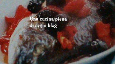 Orata al forno con le olive