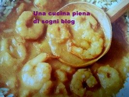 Gamberetti al curry
