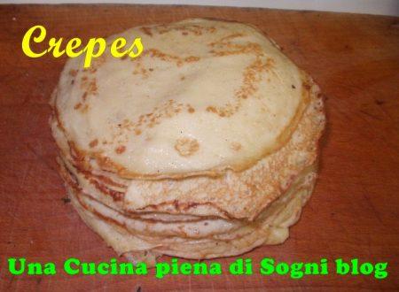Crepes: Crepes al Gorgonzola e pere