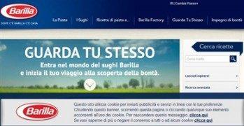 Blog Amici: sito Barilla