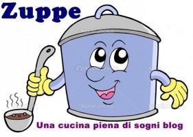 Zuppe:  ZUPPA CON ORZO, FARRO E ZUCCA