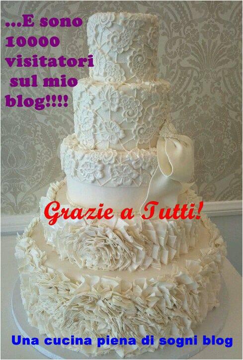torta per blog grande