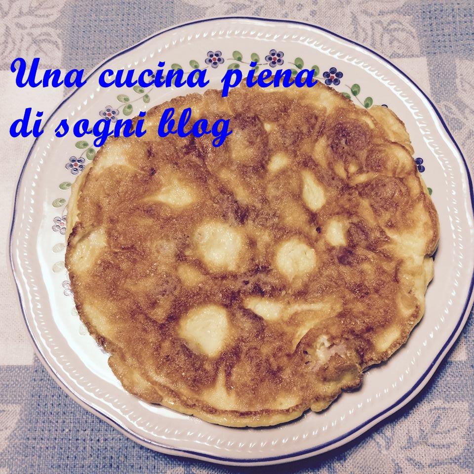 omelette con i wurstel lella