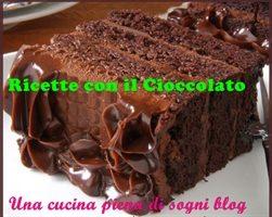 Ricette con il cioccolato: Torta cioccolato e nocciole