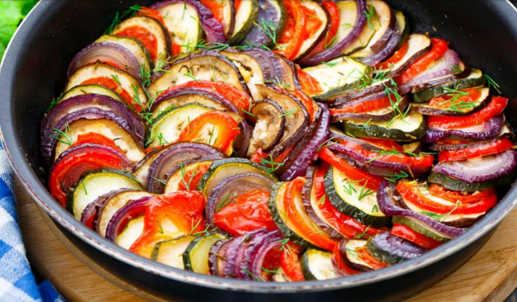 Ricette vegetariane ratatouille di verdure una cucina for Ricette di verdure