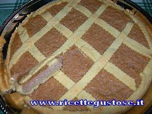 Crostate:  crostata cocco e ricotta