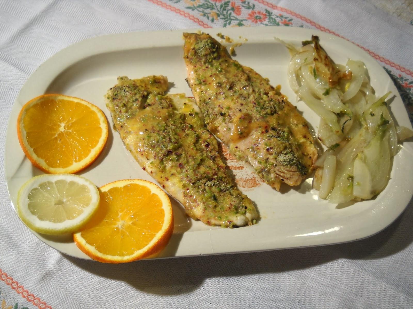 Secondi piatti di pesce trota all arancia ricetta ed for Secondi piatti di pesce