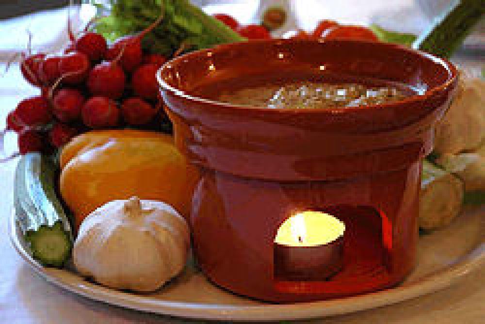 Ricetta peperoni arrostiti con bagna cauda leggera cookaround