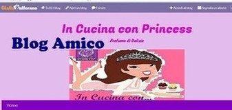 Ricette dai blog Amici: ..In Cucina con Princess blog-  Tagliatelle agli amaretti