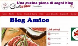 Blog amico: Gustissimo, il Portale delle Ricette online gratis