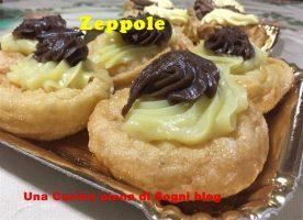 Dolci: Tra leggenda e storia- le zeppole o dolci di San Giuseppe
