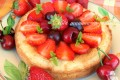 Crostata frangipane vaniglia e frutta