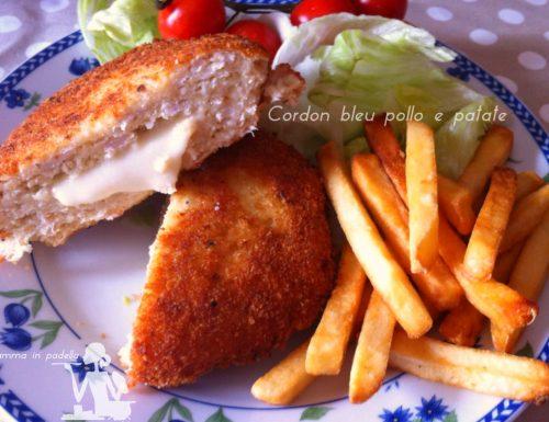 Cordon bleu pollo e patate