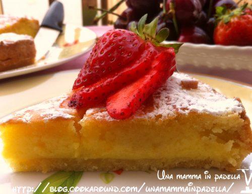 Crostata frangipane limone e fragole