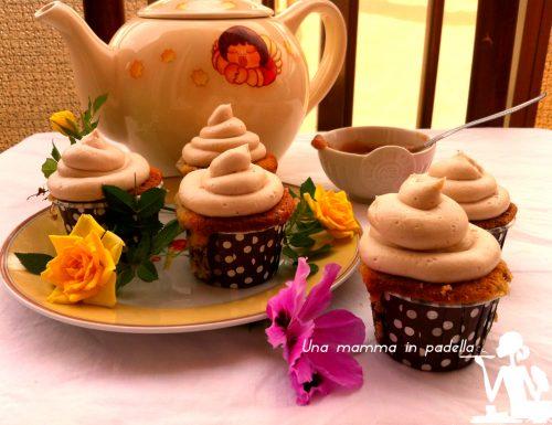 Cupcake alla crema di castagne
