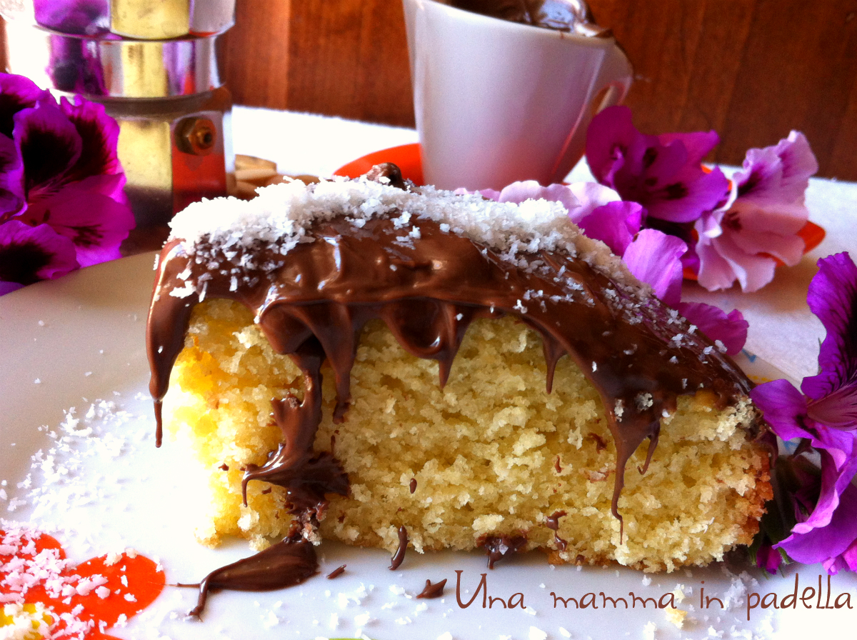Torta cocco nutella – ricetta semplice
