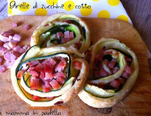 Girelle di zucchine e cotto – ricetta veloce