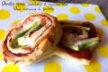 Girelle speck zucchine e mozzarella - ricetta semplice e veloce