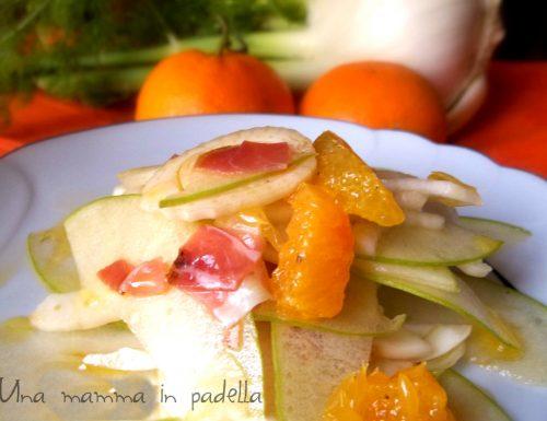 Insalata di finocchi speck e arance