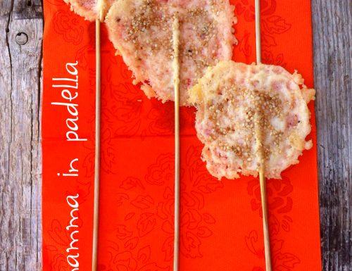 Lollypop di parmigiano
